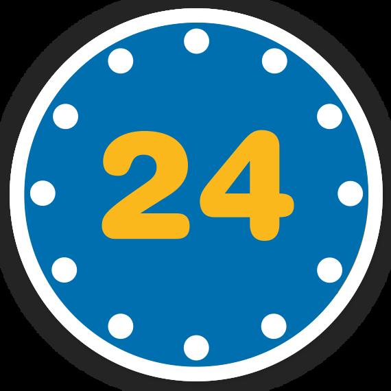 פתוח 24 שעות ביממה